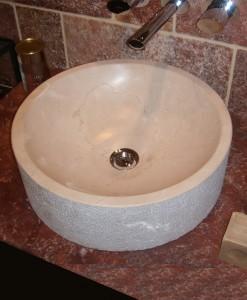 Lavabo de mármol