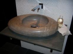 lavabo de mármol modelo calatea