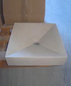 lavabo de mármol modelo nopal