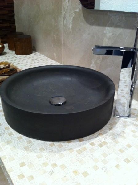 lavabo de mármol modelo coriandro