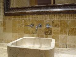 lavabo de mármol modelo kentia