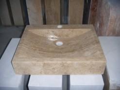 lavabo de mármol modelo ombu