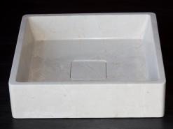 lavabo de mármol modelo bidens