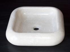 lavabo de mármol modelo boldo