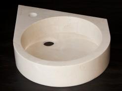 lavabo de mármol modelo astrancia
