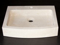 lavabo de mármol modelo ceibo