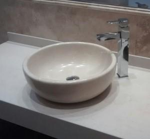 lavabo de mármol modelo naka